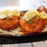 PICTURE ALEX HANNAM - Aspects at the Plough in Enderby for advertorial - Tandoori chicken - STORY